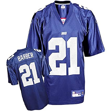 296e4cc8a Image Unavailable. Image not available for. Color  Tiki Barber  21 New York  Giants Youth NFL Replica ...