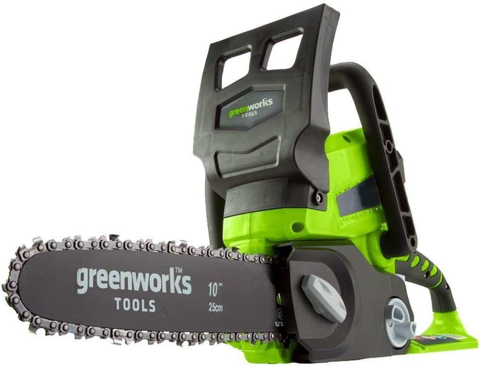 Greenworks G24CS25 Espada 25 cm Peso 3,40 Kg Bateria 24 V 4Ah (no incluida)
