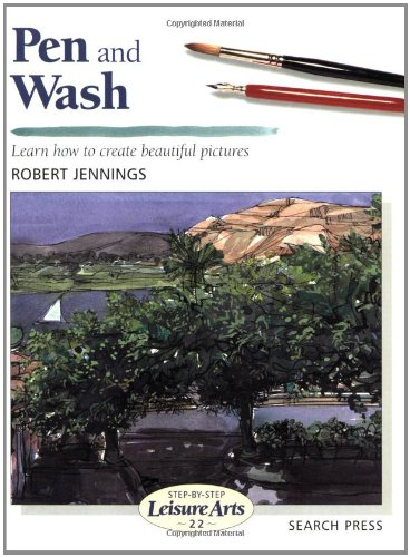 Pen and Wash (Step-by-Step Leisure Arts) ebook