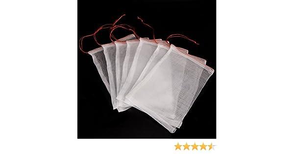 Paquete de 30 bolsitas protectoras ICEBLUEOR de malla para ...