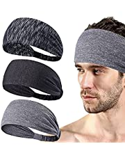 SKDK Sports Headbands ,Anti-Slip Workout Sweatband , Men & Women Hairband for Running, Yoga, Cycling, Basketball