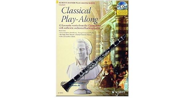 Partituras para clarinete Classical Play-Along: Amazon.es ...