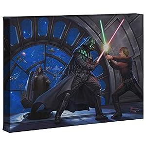 Thomas Kinkade Studios Star Wars A Sons Destiny 10 x 14 Gallery Wrap Canvas