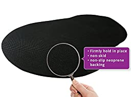 Keyboard Wrist Rest Pad - Mouse Pad Included - Ergonomic Support - Premium Quality Foam - New and Improved Shape Provides Comfort and Support to Hands