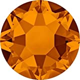2000, 2038 & 2078 Swarovski Flatback Crystals Hotfix Tangerine | SS16 (3.9mm) - Pack of 1440 (Wholesale) | Small & Wholesale Packs | Free Delivery