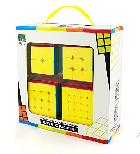 MoYu Stickerless 4-piece Speed Cube Gift Box