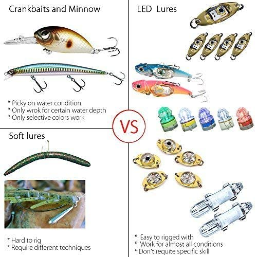 Details about  /5pc Durable LED Underwater Fishing Lights Deep Drop Night Lamp Fish Lure Attract