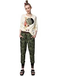 Desigual Womens Pant_alba Casual Pants
