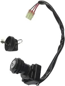 1x IGNITION SWITCH KEY SUZUKI 500 LT-A500F QUAD MASTER LTA500F LTA500 F 2000-01