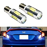 h21 bulb - iJDMTOY (2) Extremely Bright 7.5W High Power Projector LED Backup Reverse Light Bulbs For 2016-up Honda Civic Coupe 2-Door ONLY (Does Not Fit Sedan/Hatchback)