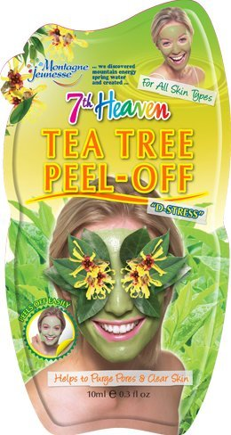 Price comparison product image 7th Heaven Facial Masks (Pack of 12, Tea Tree Peel-Off .3 oz)