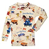 Children's Little Blue Truck Print Pajama Top and Bottom Set
