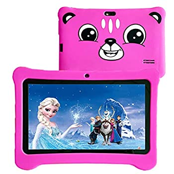 Youngsters Pill,7 inch Android 9.0 Youngsters Version Pill with WiFi,GMS Licensed, 2GB+16GB Pill for Youngsters,Kids Pill with Parental Management, 40+APP Pre-Put in and Youngsters-Proof Case
