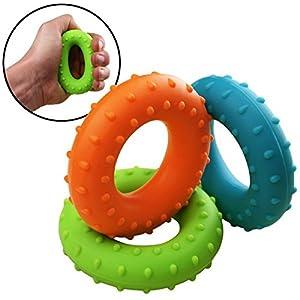 SET 3 x Fingerhantel Unterarmtrainer ARNIE Stufe: Soft, Medium und Hard von...