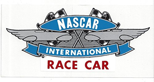 Racing Car Vintage (NASCAR Race Car Racing Decal Sticker 6-1/2 Inches Long Size Vintage Style)