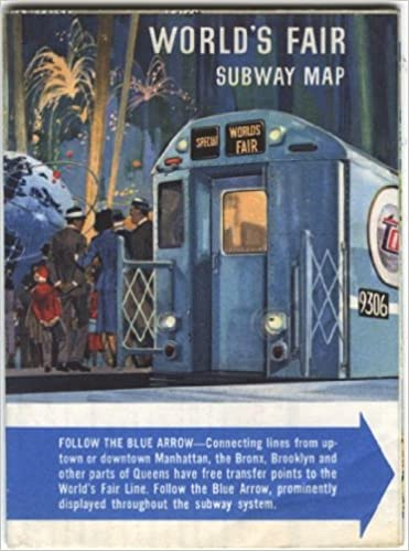 World's Fair Subway Map 1964: New York City Transit Authority ... on