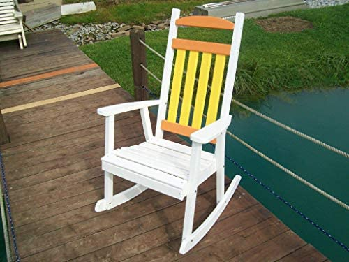 Reviewed: A L Furniture Company Classic Recycled Plastic Porch Rocking Chair