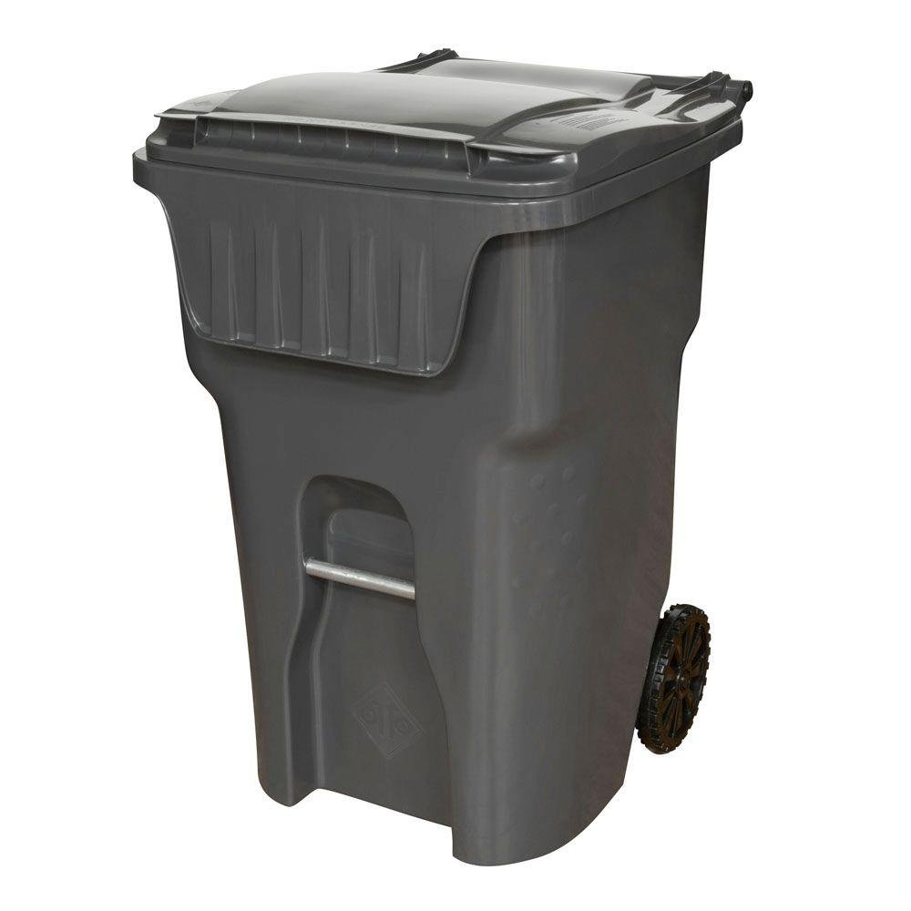 Edge 95 gal. Heavy Duty Rollout Waste Container by OTTO