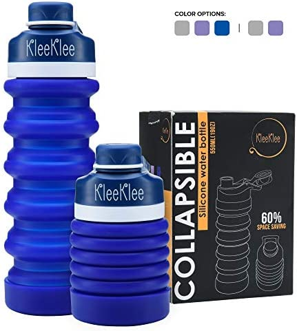 KleeKlee Collapsible Water Bottle 19oz product image