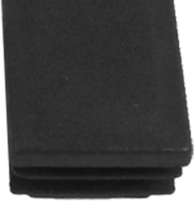 sourcingmap 8pcs 48mm Diameter Pipe Tube Insert Chair Leg Cap Black Rubber Tubing Plug