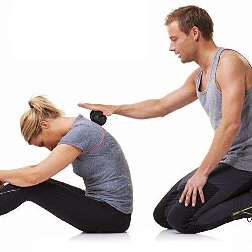 Anne Car même Massage Balle en noir même Rouleau de massage Duo faszien Ball