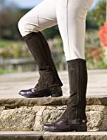 Adult Suede Half Chaps by Shires Equestr...