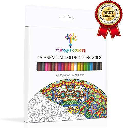 Vibrant Colors Premium Coloring Pencils