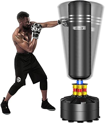 Home Boxing Portable Punching Bag for Kids Adults Quiet Punch and Women
