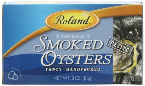 (Roland Oysters, Petite Smoked, 3 Ounce (Pack of 10) by Roland)