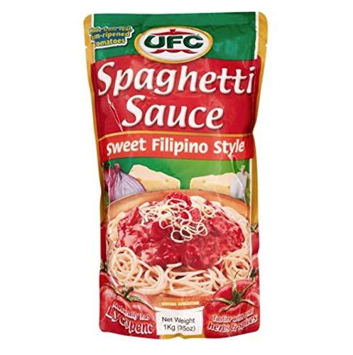 UFC Brand Sweet Filipino Style Spaghetti Sauce (2 bags) by UFC