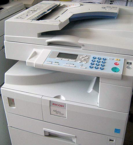 Ricoh Aficio MP 1600 SPF Monochrome Multifunction Copier/Printer - A3, 16 ppm, Copy, Print, Scan, Fax, Duplex, 1 Tray (Renewed) (Ricoh Copier Fax Machines)