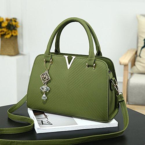 verde V nueva XWAN Bolso hombro green moda Hombro Bolso Messenger de q8z8w17O
