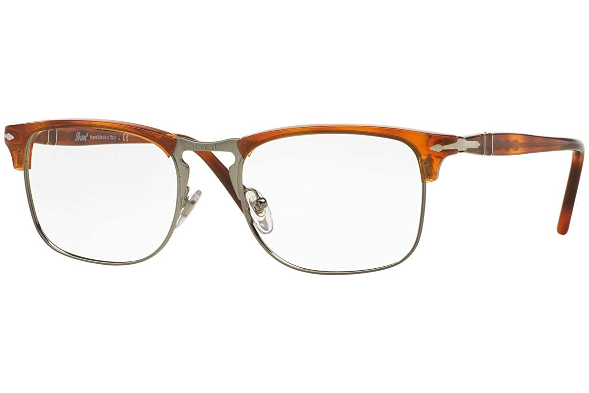 8ce6c4b0759 Amazon.com  Persol PO8359V Eyeglasses 51-19-145 Light Havana 96 PO8359   Clothing