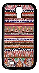 Abstract Pattern - Hand Drawn Patterns Samsung Galaxy S4 I9500 Black Case