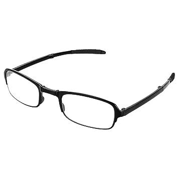Gafas de lectura plegables, Clip portátil Nariz Gafas ...