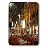 Danita Delimont - Architecture - Georgia, Savannah, Cathedral of St. John the Baptist, interior - Light Switch Covers - single toggle switch (lsp_230610_1)