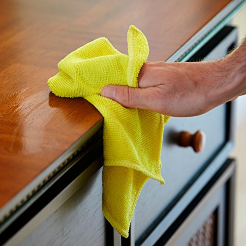 S & T Bulk Microfiber Kitchen, House, Car Cleaning Cloths - 50 Pack, 11.5'' x 11.5'' by S & T (Image #1)