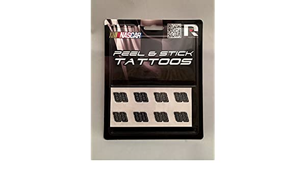 #88 Dale Earnhardt Jr Nascar Peel /& Stick Set of 8 Temporary Tattoos Official Licensed Product #24 Jeff Gordon #48 Jimmie