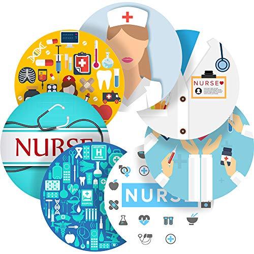 Happy Nurse Reward Sticker Labels, 70 Stickers @ 1