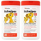 Petkin Itchwipes 2 Pack of 30 wipes for Cats & Dogs (2 pack)