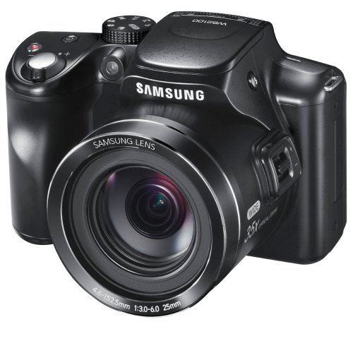 Samsung WB2100 16.4MP CMOS Digital Camera with 35x Optical  Zoom, 3.0'' LCD Screen and 1080i HD Video (Black) (OLD MODEL) by Samsung