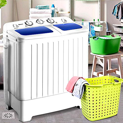 Portable Mini Compact Twin Tub 17.6lb Washing Machine Washer Spin Dryer - Skroutz Deals by Unknown (Image #1)