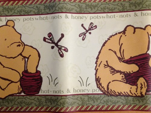 What Nots and Honey Pots Winnie the Pooh Border ()