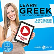 Learn Greek - Easy Reader - Easy Listener Parallel Text Audio Course No. 1 |  Polyglot Planet