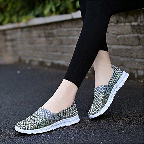 Grau1 AIRAVATA Zapatillas para SH075 Mujer SwzF6Rw