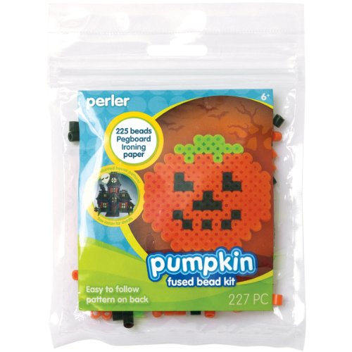 Perler Fused Beads Kit Pumpkin