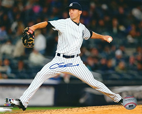 Autographed Chasen Shreve 8x10 New York Yankees Photo