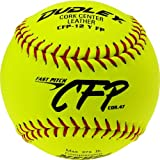 Dudley 12'' CFP CFP NFHS Leather Fastpitch Softball - Pack of 12