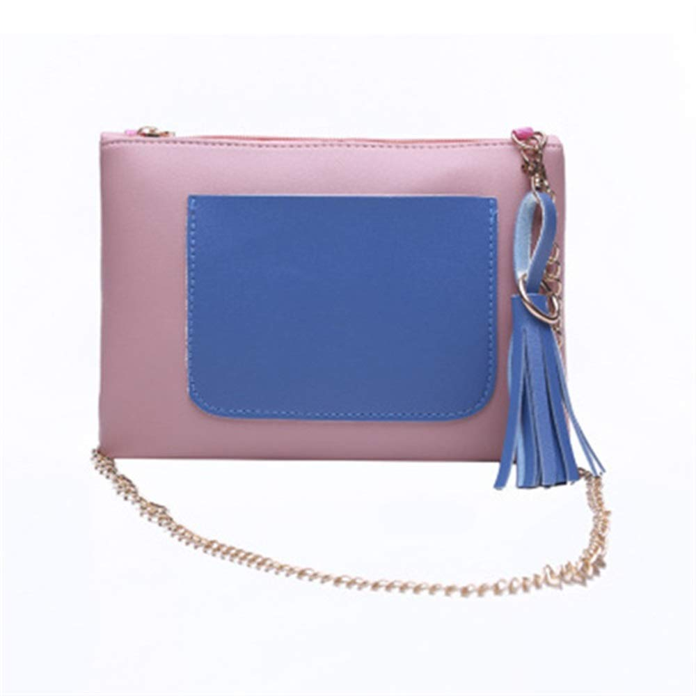 Best Gift for You WHXYAA Ladies Banquet Party Sequined Zipper Type Hand Holding Envelope Bag Blue Pocket