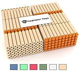 300 Orange Nerf Compatible Darts by Raytheon Toys Darts for Nerf N-Strike Elite Series Blasters